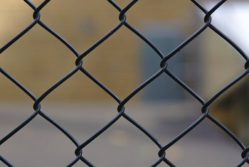 How to Paint & Refinish Chain Link Fences