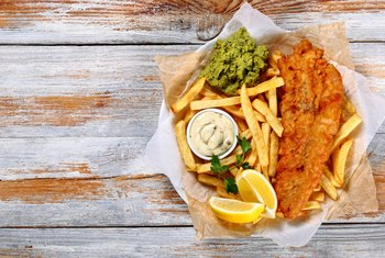 How Much Sodium Is in Fish & Chips?