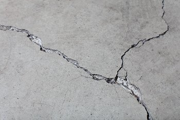How to Put Down Flooring on a Cracked Concrete Slab