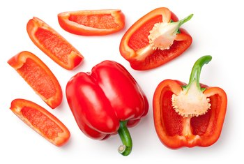 Soluble Fiber in Bell Peppers