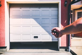 How to Adjust a Photo Eye on a Garage Door