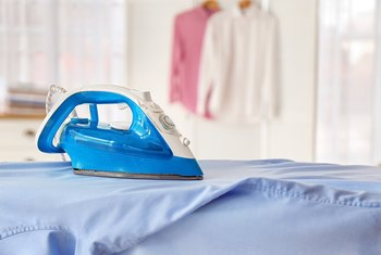 How to Remove Burnt Fabric From an Iron