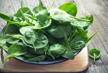 Eating a Bowl of Spinach Per Day