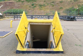 A survival bunker could be useful in a natural disaster such as a tornado or hurricane.