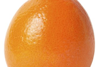 Tangelos develop a distinctive neck, differentiating them from other citrus fruits.