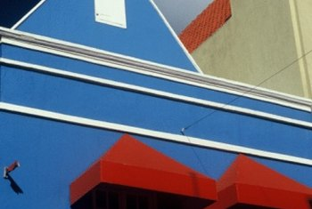 Rejuvenate awnings with a new color.