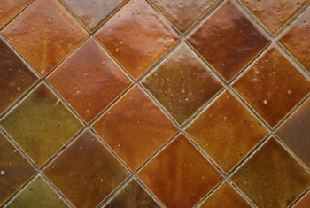 Greasy ceramic tiles are a slip hazard and attract grime.