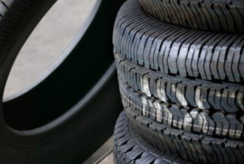 Rubber tires contain plasticizers to make them soft.