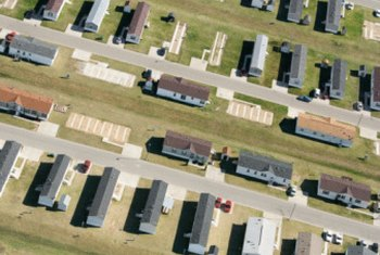 Mobile home walls can be finished in a variety of ways.