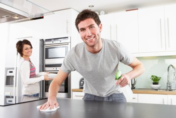 Consider purchasing a franchise cleaning business because of the training.