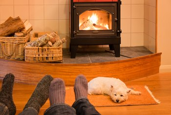 How to Improve the Draw of a Wood-Burning Stove to Help It Burn Better