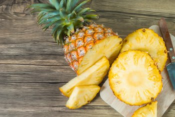 The Dietary Fiber in Raw Pineapple
