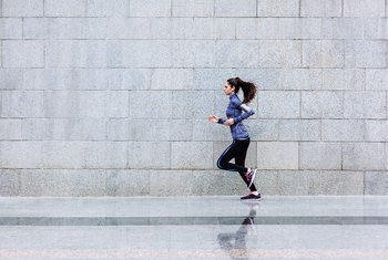 Does Running Alone Decrease the Body Fat?