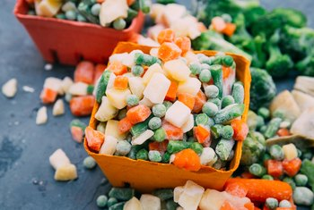 Frozen Vegetable Nutrition and Sodium