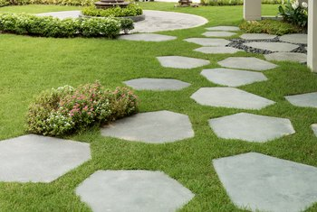 What to Put in Between Flagstones