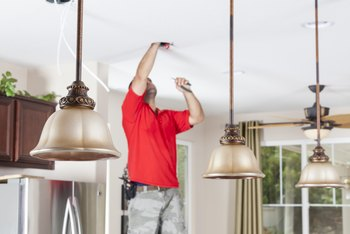 How to Hang a Light Fixture When Fixture Wires Are Not Color Coded