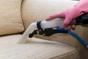 How to Clean Water Marks From an Upholstered Chair