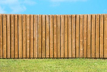 How to Attach Fencing Panels to Posts
