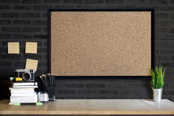 How to Paint a Cork Bulletin Board