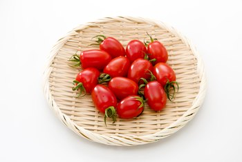 The Nutritional Facts for Three Ounces of Grape Tomatoes