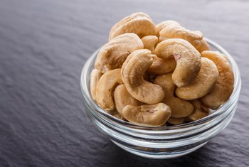 Cashews Fall Into What Food Group?