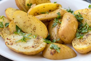 Nutrition Facts for Steamed New Potatoes
