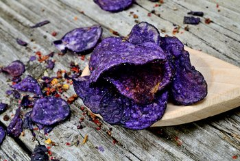 Nutrition in Blue Potatoes