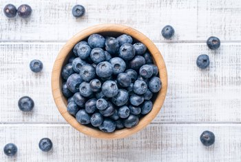 Blueberries And Enzymes