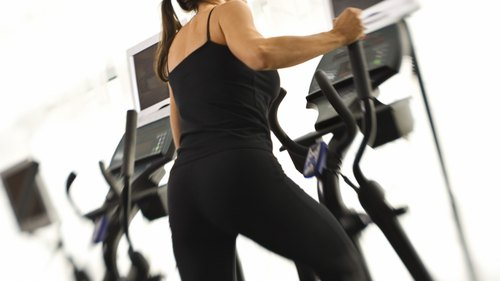 <p>Increased cardio can help decrease muscle mass.</p>