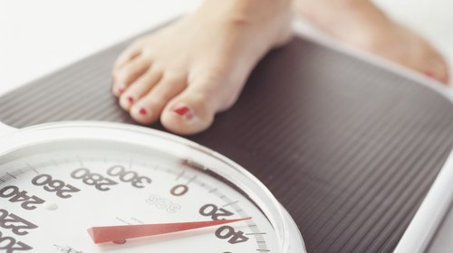 <p>Weighing yourself once a week will give you a better picture of your weight loss over time.</p>