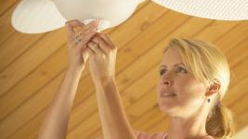 <p>Measure and replace the glass for any ceiling fan. light.</p>