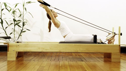 <p>You don't need to start with Pilates machines like the reformer.</p>