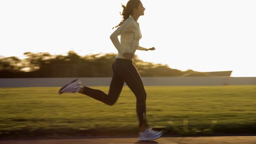 <p>Running burns more calories than walking.</p>