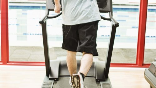 <p>Use correct posture and technique when running on a treadmill.</p>
