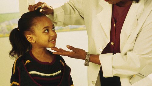<p>Talk with your pediatrician to determine your child's ideal weight.</p>