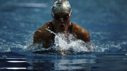 <p>Breaststroke may be your best and most comfortable stroke.</p>