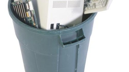 <p>A plastic trash can with tight-fitting lid doubles as a compost bin.</p>