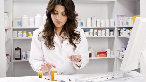 <p>A pharmacy technician must ensure patients receive the proper medicine, dose and number of pills.</p>