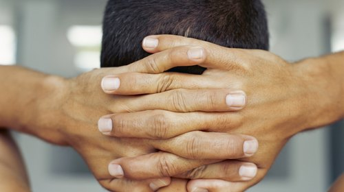 <p>Practicing exercises with your hands behind your head can help you maintain good posture.</p>