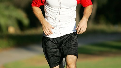 <p>Running is an aerobic exercise that increases your heart rate.</p>