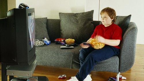 <p>Limit the amount of time your child spends in sedentary activities, such as watching TV or playing on the computer.</p>