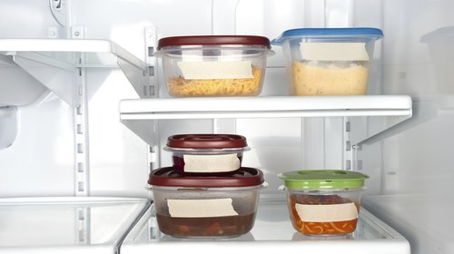 <p>Keep foods stored in containers away from open areas.</p>