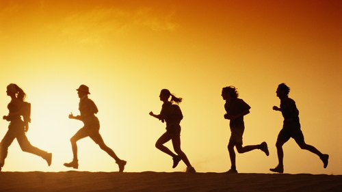 <p>Joining a running group or club can help you stay motivated.</p>