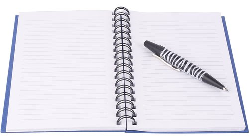 <p>The blank page beckons the creative writer.</p>