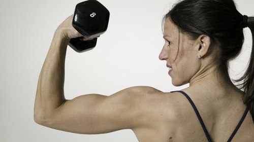 <p>Add resistance training to your workout to build muscle tone.</p>