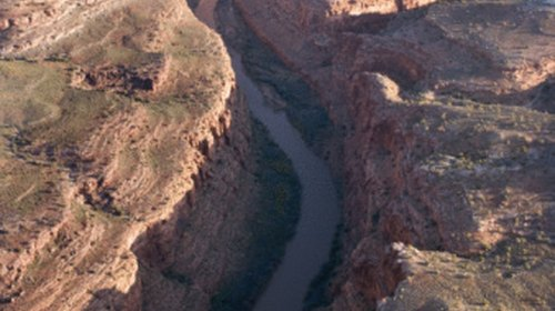 <p>California is one of 7 states to get water from the Colorado river.</p>
