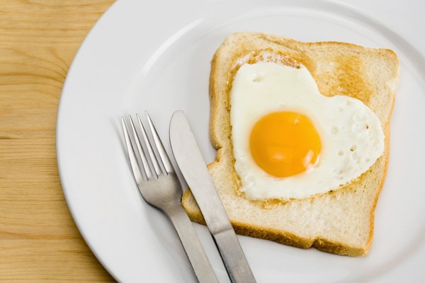 A serving of eggs puts a dent in your daily protein requirements.