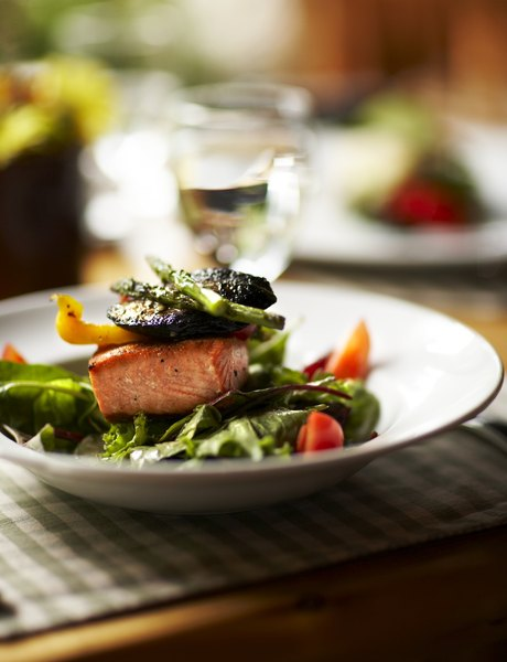Adding salmon to your diet can help protect your heart.