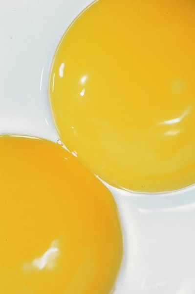 One egg yolk contains 2.7 grams of protein.