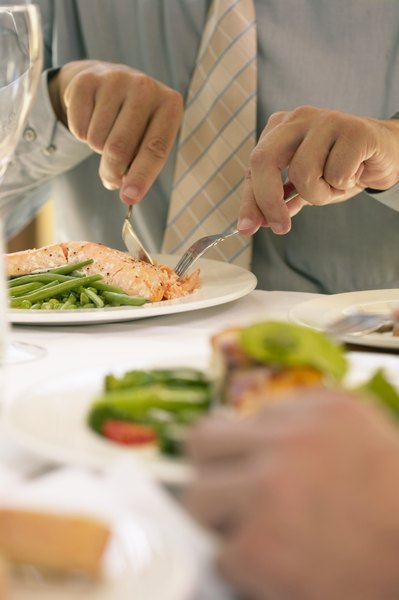 Salmon is similar to tuna in fat, calories, protein and many nutrients.
